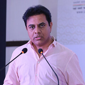Photo of K T Rama Rao