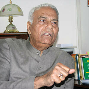 Photo of Yashwant Sinha
